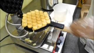 Waffle Egg Bubble Maker Making process