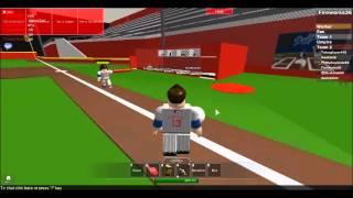 Roblox Ep.14 - Nationals vs Dodgers [Nationals gewann 9-0]