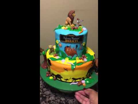 The Lion King Cake Youtube