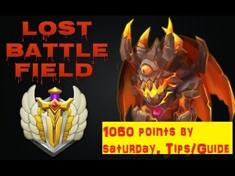 1040 Lost Battlefield Points By Saturday, Tips And Guide  Castle Clash