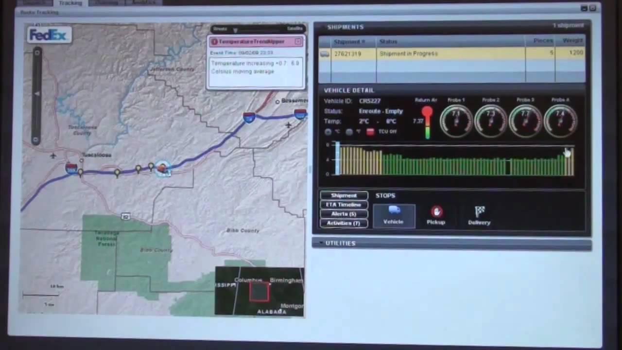 demo fedex critical truck tracking youtube. Black Bedroom Furniture Sets. Home Design Ideas