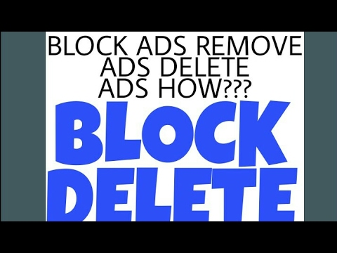 How to remove/delete ADS in any android smartphone,follow 3 steps