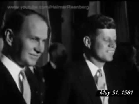 May 31, 1961 - President John F. Kennedy arriving in Paris, France