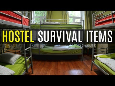 10 THINGS YOU NEED IN A HOSTEL | Quick Travel Tips For Beginners Ep.003