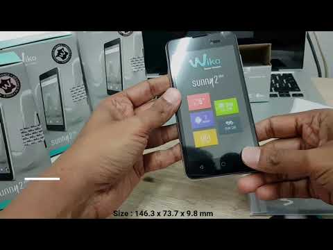 Wiko Sunny 2 Plus Unboxing || Brand new wiko sunny 2 plus frist look
