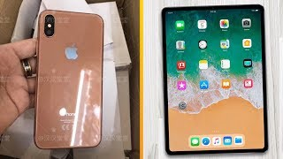 Gold iPhone X Coming, Face ID iPad Pro Release Date & Smaller HomePod Rumors! iPad 検索動画 29