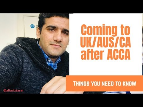 Coming To UK 🇬🇧 After ACCA
