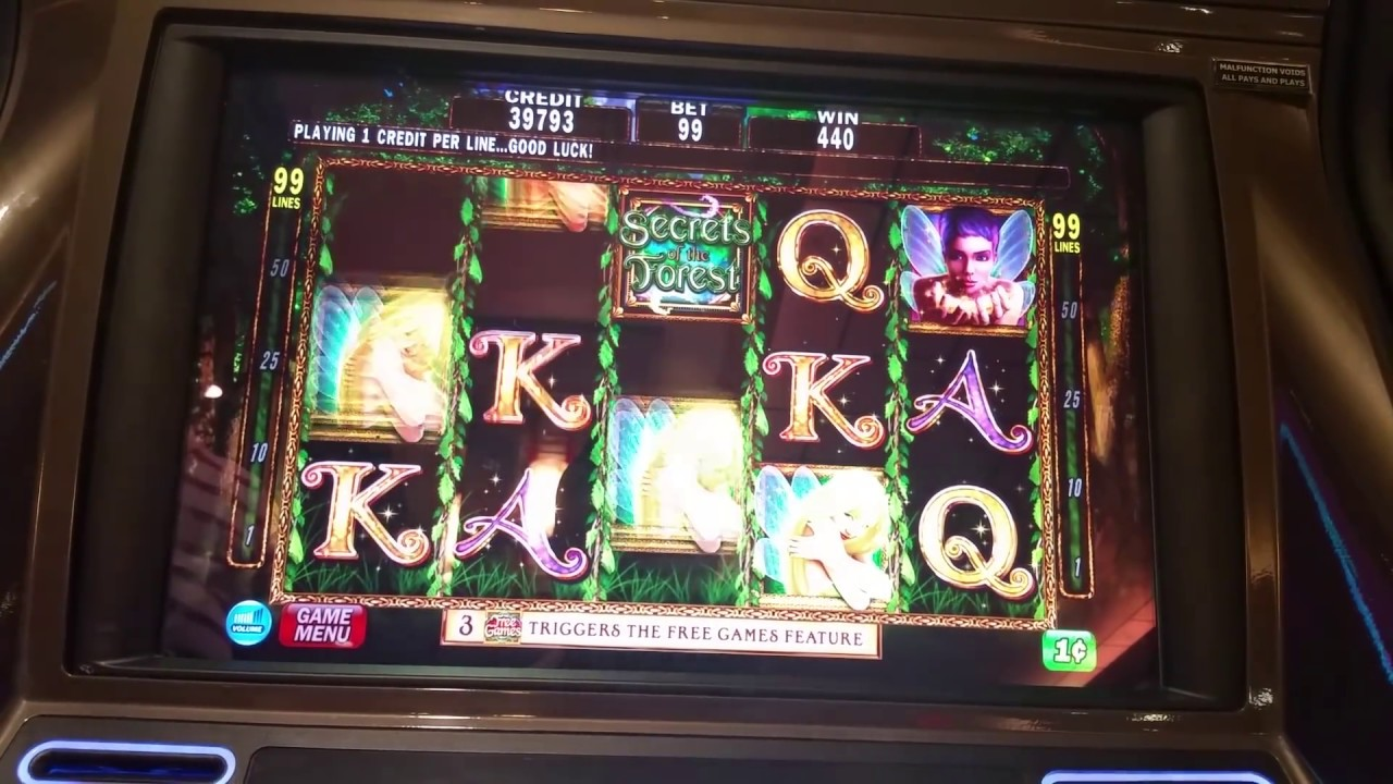 Secrets Of The Forest Slots