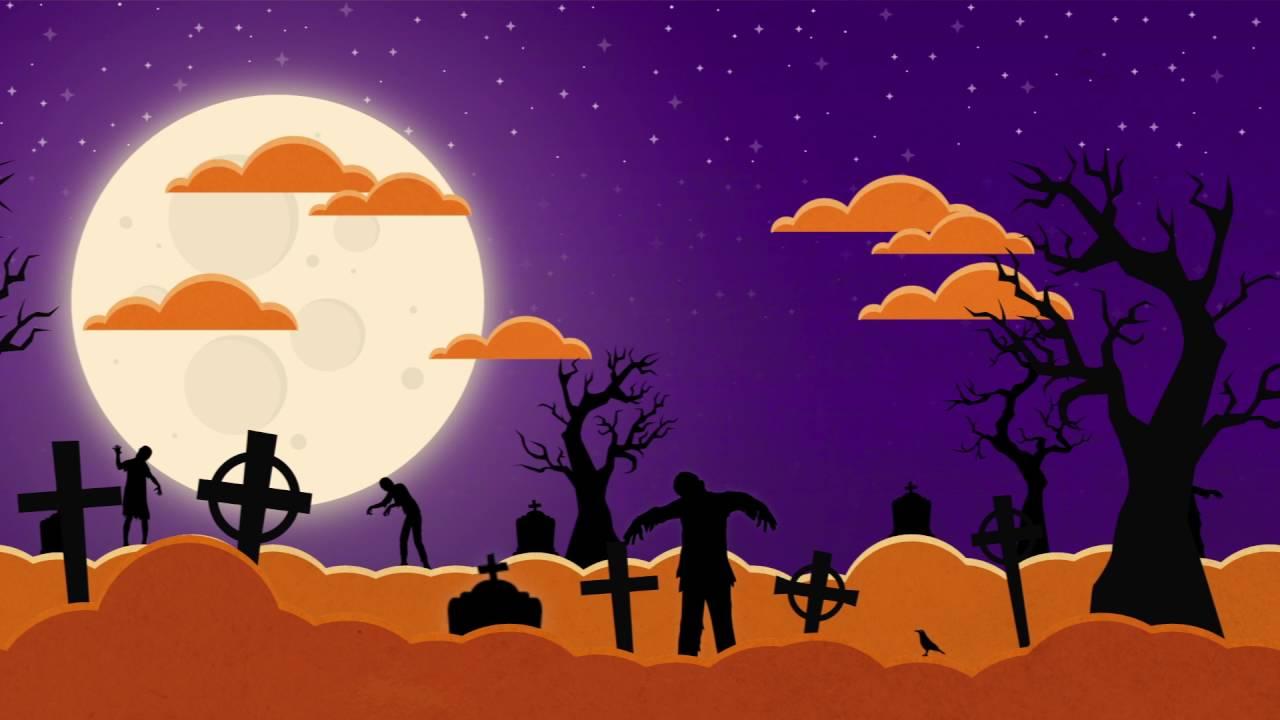 Motion design - Halloween Night © / Réalisation : Gaël CARMONT