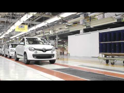 2014 Novo Mesto plant - Final Assembly of the new Renault Twingo | AutoMotoTV