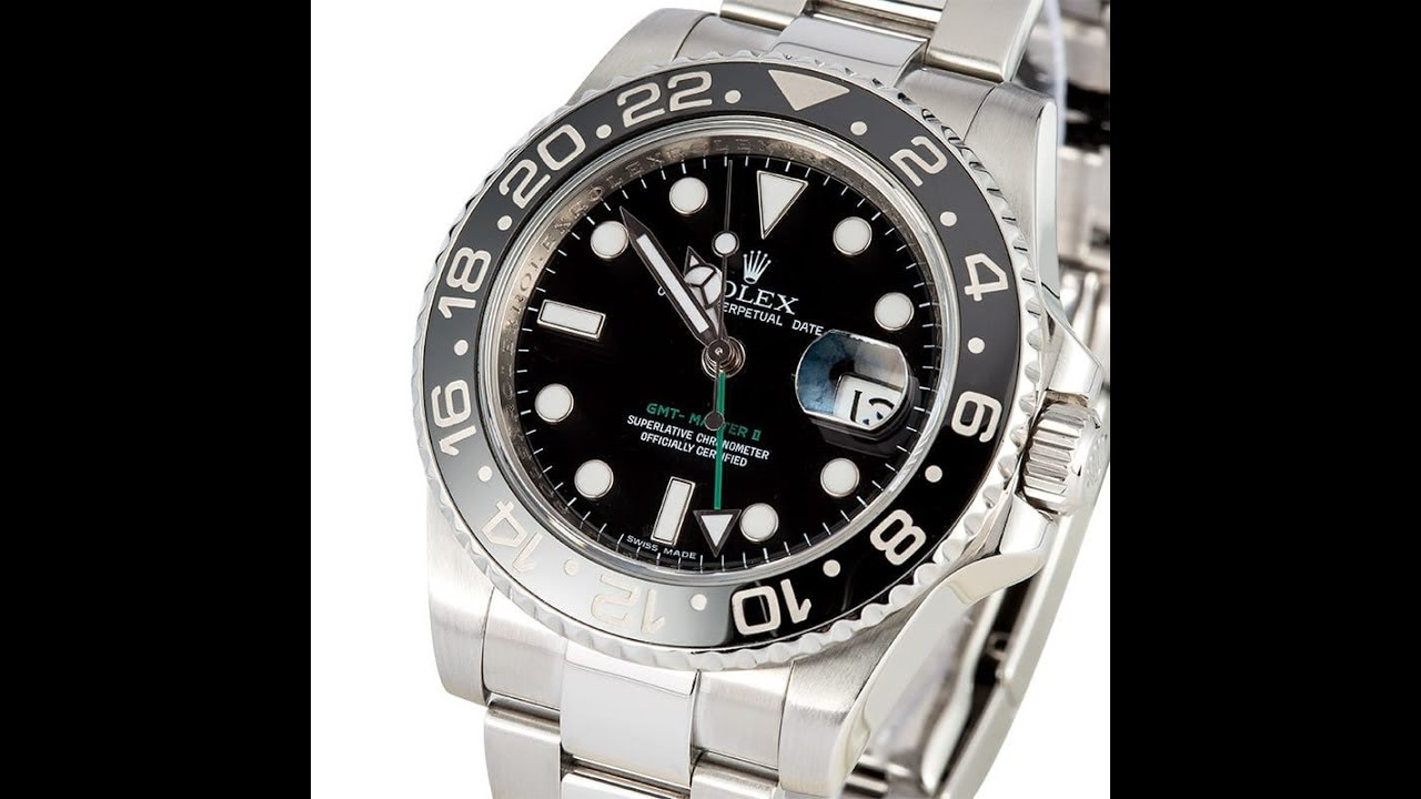 5ad753a7906 Why Rolex Discontinued the All-Black GMT Master 2 - YouTube
