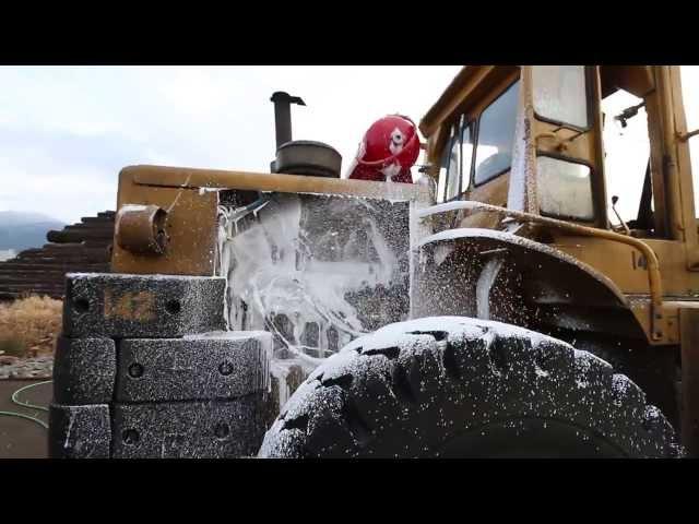 Tri-Max EFCS CAFS System - Heavy Equipment Fire Suppression Installation
