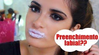 Aumentando os lábios em segundos | DE FORMA NATURAL