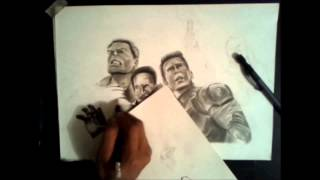 DRAWING AVENGERS !!!!!! IN GRUP... BY JOSE BARRIOS