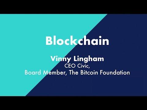 Vinny Lingham on Blockchain