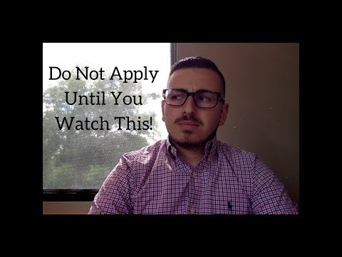 Do Not Apply To Dental School Until You Watch This: Ep_001