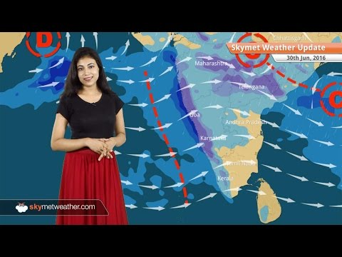 Weather Forecast for June 30: Monsoon active in India; heavy rain in Mumbai, Goa, Ahmedabad
