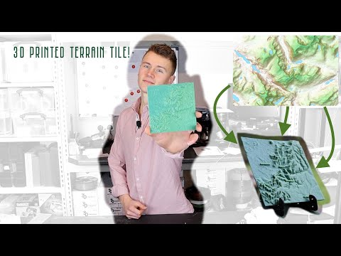 How to 3D Print Terrain Maps! UK Geo Elevation Data to 3D Model Tutorial