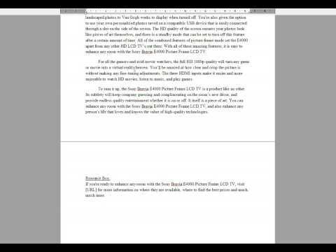 Articles Written Review