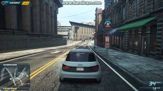 need for speed most wanted 2 audi a1 clubsport quattro cruising hd