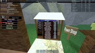 How to get rich and with enough level in ROBLOX: Knight's Revenge II RPG
