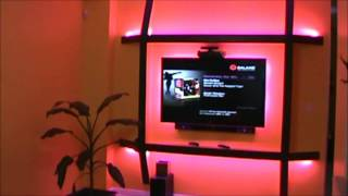 Tv Wall Mount With Led Backlighting