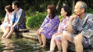 Onsen Theme Park, or Hot Spring Theme Park, in Tokyo [iPhone 4S/HD]