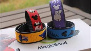 DECORATING OUR MAGIC BANDS!