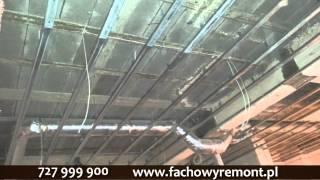 Fachowy Remont sufity podwieszane, gres, malowanie, deweloperka.