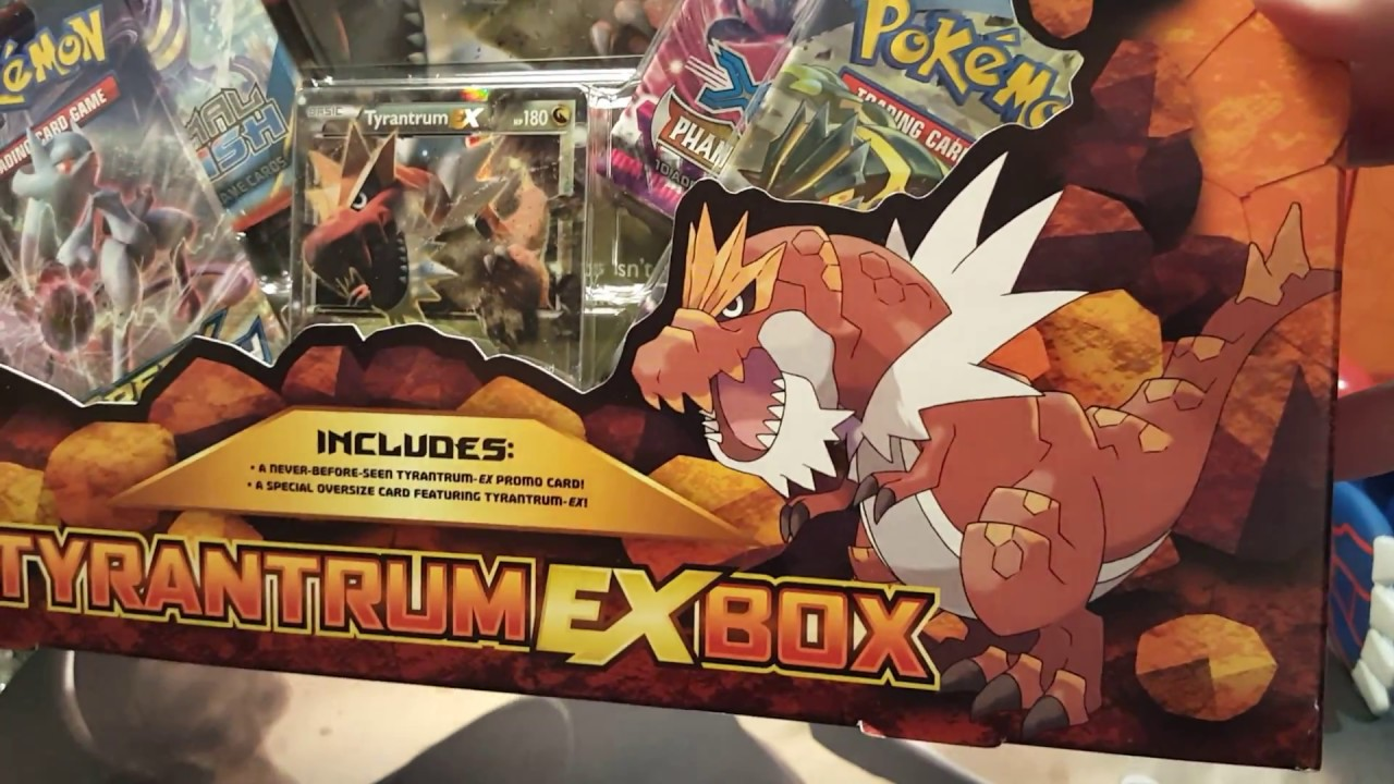 Tyrantrum Ex Box Review