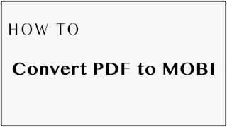 how to convert pdf files to mobi format for kindle kindle fire paperwhite voyage oasis