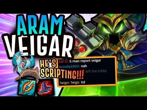 RAGING SONA THINKS I'M SCRIPTING AS VEIGAR?! - Veigar ARAM - League of Legends