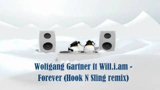 Wolfgang Gartner feat Will.i.am - Forever (Hook N Sling remix) HD