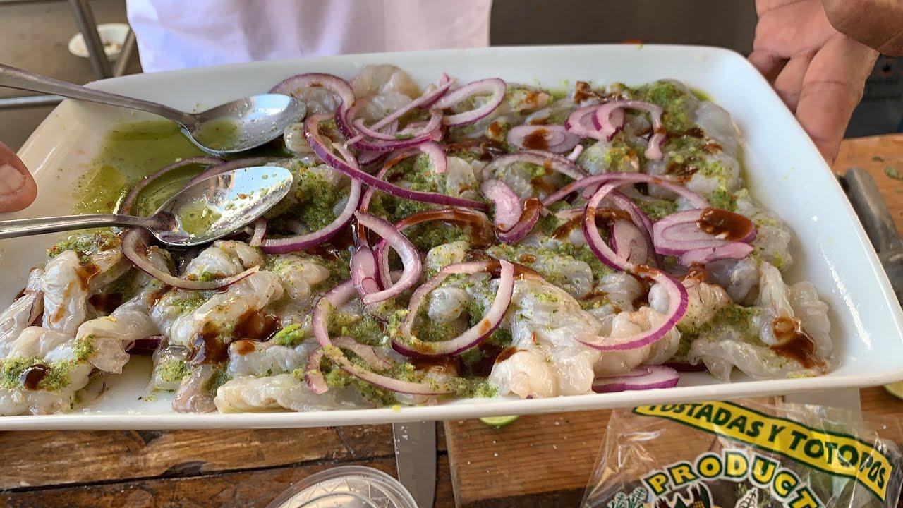 Gustan aguachile verde de camarón en el taller preparamos este