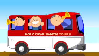lapland where can you find santa? festive animated music video mrweebl