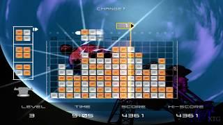 Lumines Plus PS2 Gameplay HD (PCSX2)