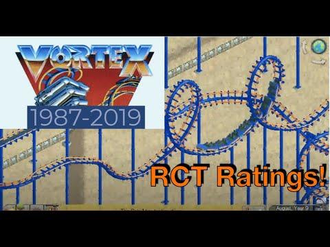 Vortex at Kings Island RollerCoaster Tycoon Recreation |