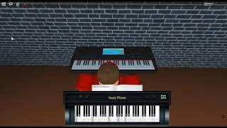 The River Flows in You - First Love von: Yiruma auf einem ROBLOX Klavier. [Überarbeitet/Mittel]