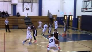 Central York Middle School Boys Basketball vs. Spring Grove 1/7/16