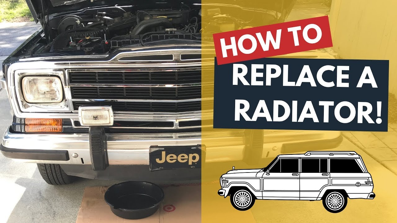 Overheating Issues? Installing a new radiator and fan clutch plus