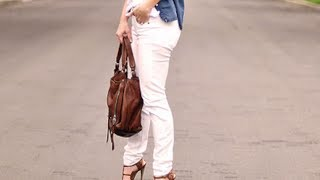 What NOT to Wear with White!