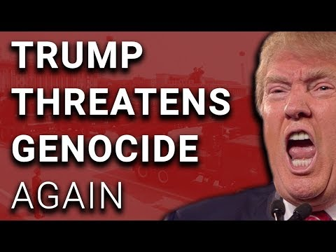 """Trump Threatens Genocide AGAIN, NKorea Might Not """"Be Around Much Longer"""""""