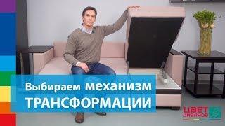 видео Механизмы раскладки диванов