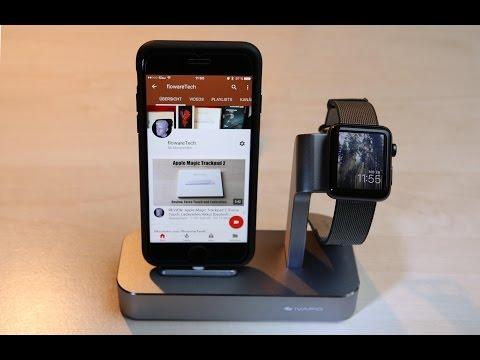 iVAPO iPhone und Apple Watch Dockingstation: UNBOXING und Review  [German/Deutsch]