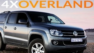 VW Amarok tested in Namibia