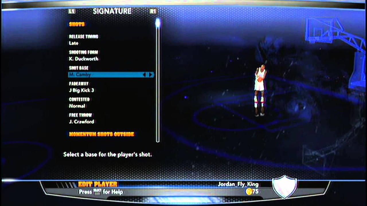 Best Jump Shot in NBA 2K14 - YouTube