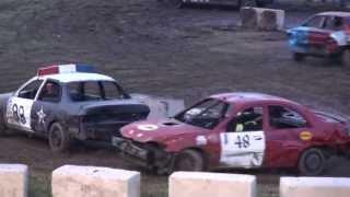 Woodstock Demolition Derby 2013 | Figure 8 Race #1