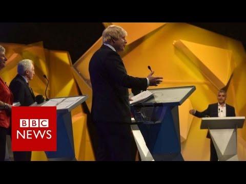 Highlights of BBC's EU Great Debate - BBC News