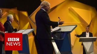 Highlights of BBC's EU Great Debate - BBC News