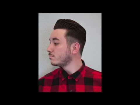 Master Barber Phil Hovey: textured pomp and low fade